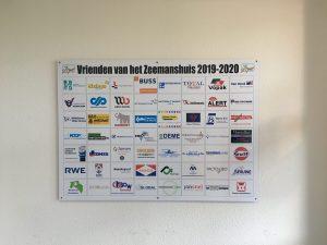 Sponsorbord Zeemanshuis Eemshaven